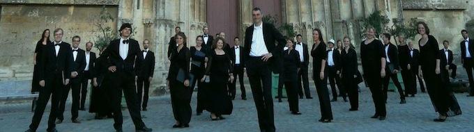 Der Kammerchor in Frankreich (© NH)